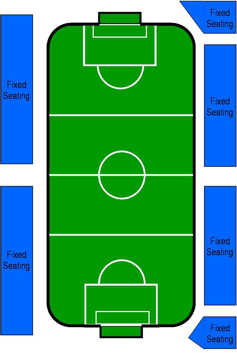 Odeum Soccer Field Seating Map