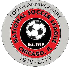 National Soccer League 100th Anniversary logo