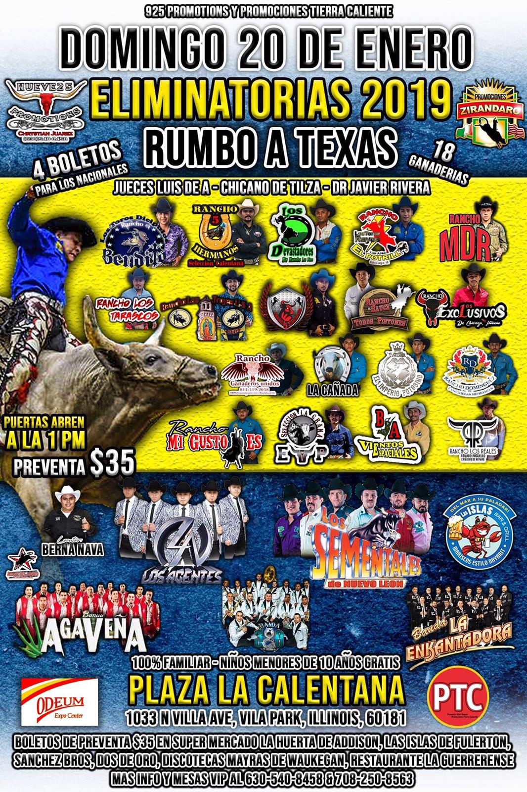Odeum Expo Rumbo a Texas