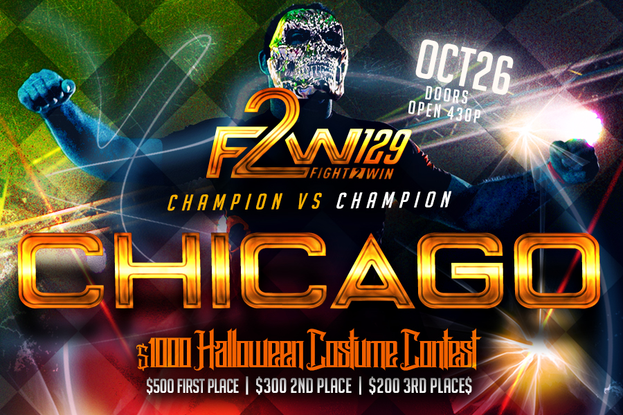 Fight 2 Win returns to the Odeum Expo Center on October 26 2019