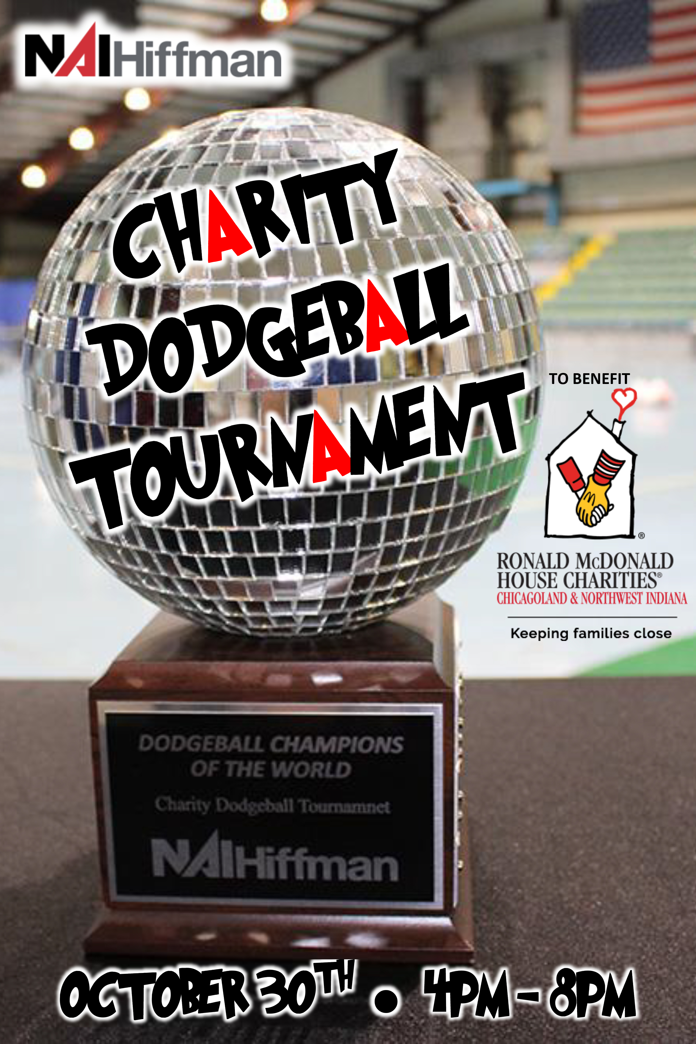 Dodgeball Tournament for Ronald McDonald House Charities at the Odeum Expo Center
