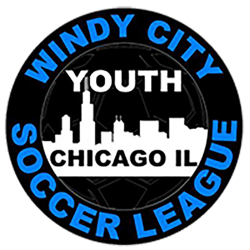 Logo for Windy City Youth Soccer League playing their indoor season at the Odeum Expo Center in Villa Park Illinois