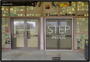 Small Image of Front Entrance to Virtual Tour of the Odeum Expo Center in Villa Park, Illinois